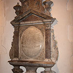 Featherstone Monument 18th century - Dismantled and rebuilt. St. Margaret's church, Stanford-le-hope.